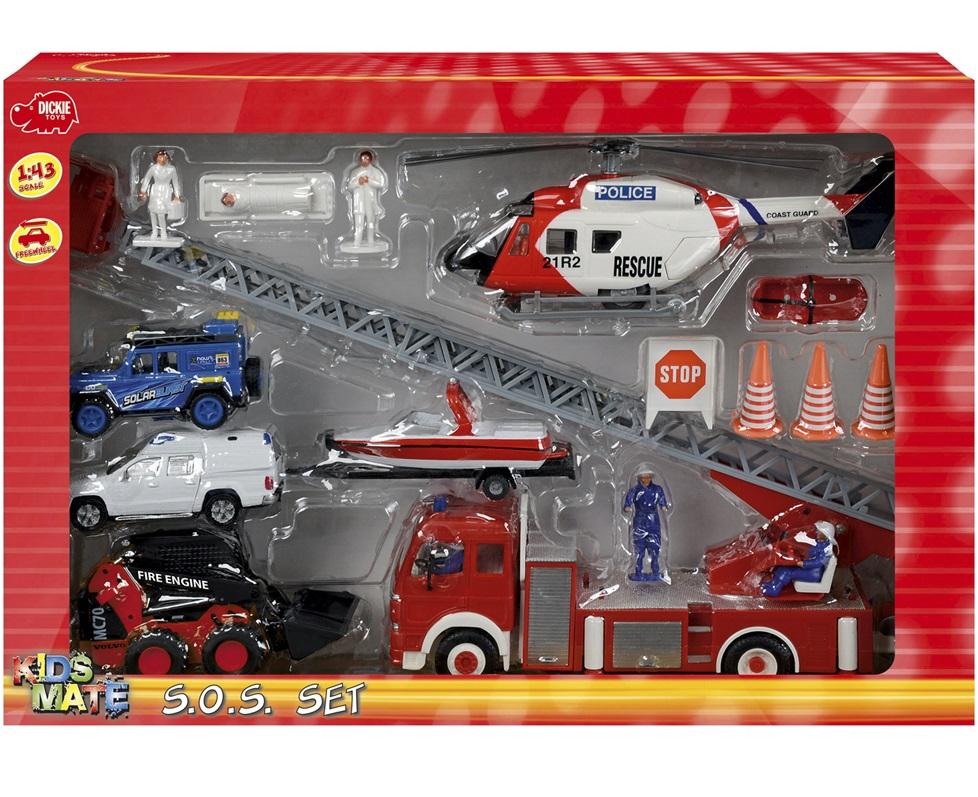 Игровой набор  Спасательный набор масштаб 1:43 - Машины, артикул: 97109