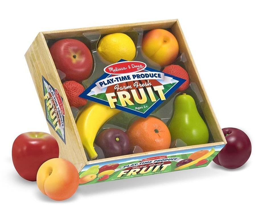 Купить Набор фруктов из серии Готовь и играй , Melissa&Doug