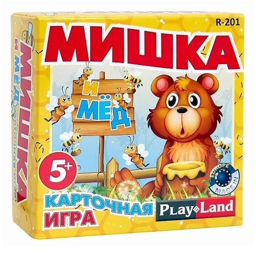 Игра настольная - Мишка и медРазвивающие<br>Игра настольная - Мишка и мед<br>