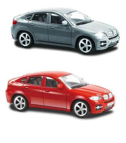 Металлическая машина RMZ City - BMW X6, 1:43BMW<br>Металлическая машина RMZ City - BMW X6, 1:43<br>