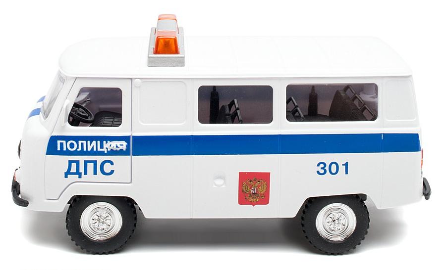 машина уаз 452 полиция дпс свет звук