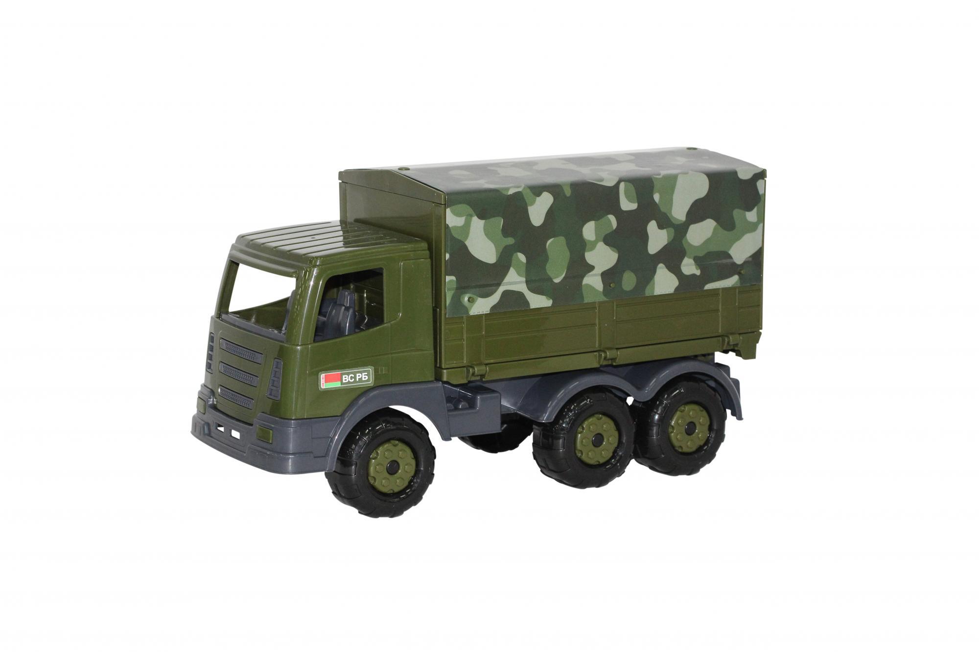 Купить Автомобиль бортовой тентовый военный Престиж, Полесье