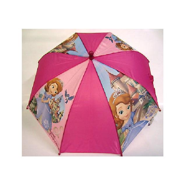 Зонт-трость из серии Disney Sofia the First, 46 см, автоматическийДетские зонты<br>Зонт-трость из серии Disney Sofia the First, 46 см, автоматический<br>