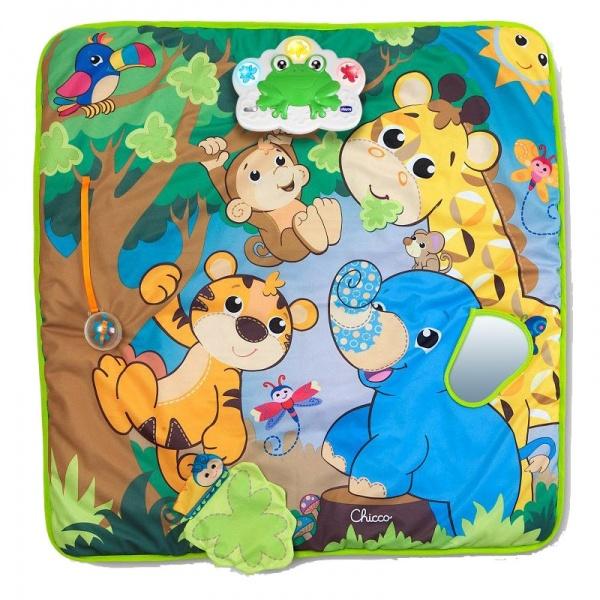 Коврик музыкальный «Джунгли»Детские развивающие коврики для новорожденных<br>Коврик музыкальный «Джунгли»<br>