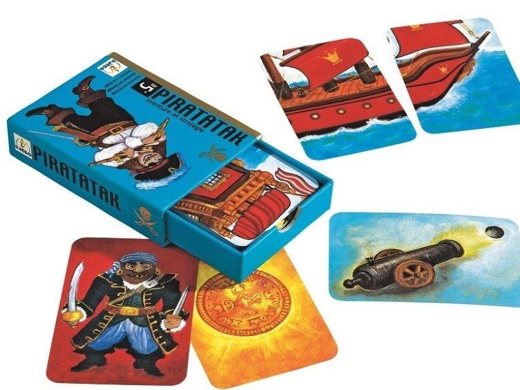 Купить Детская настольная карточная игра - Пират, Djeco