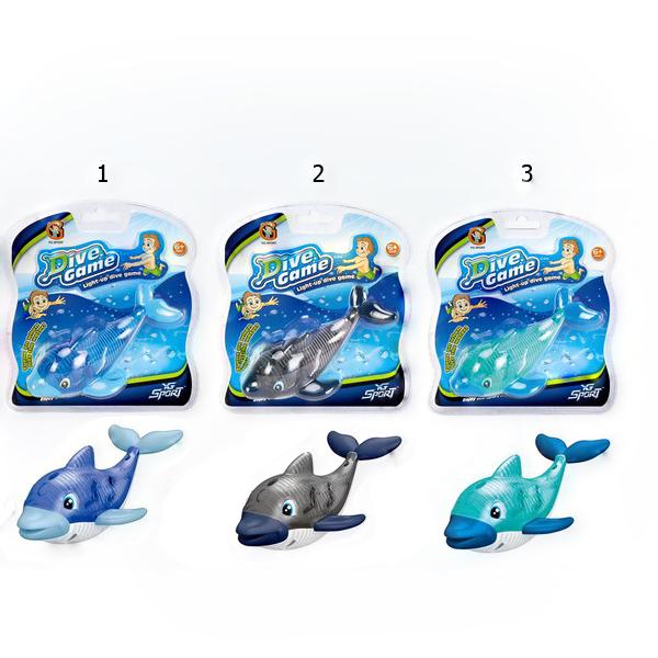 Плавающий дельфин с подсветкойРобоРыбки<br>Плавающий дельфин с подсветкой<br>