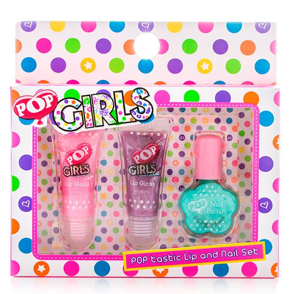 Купить Набор детской декоративной косметики для губ и ногтей из серии Pop, Markwins