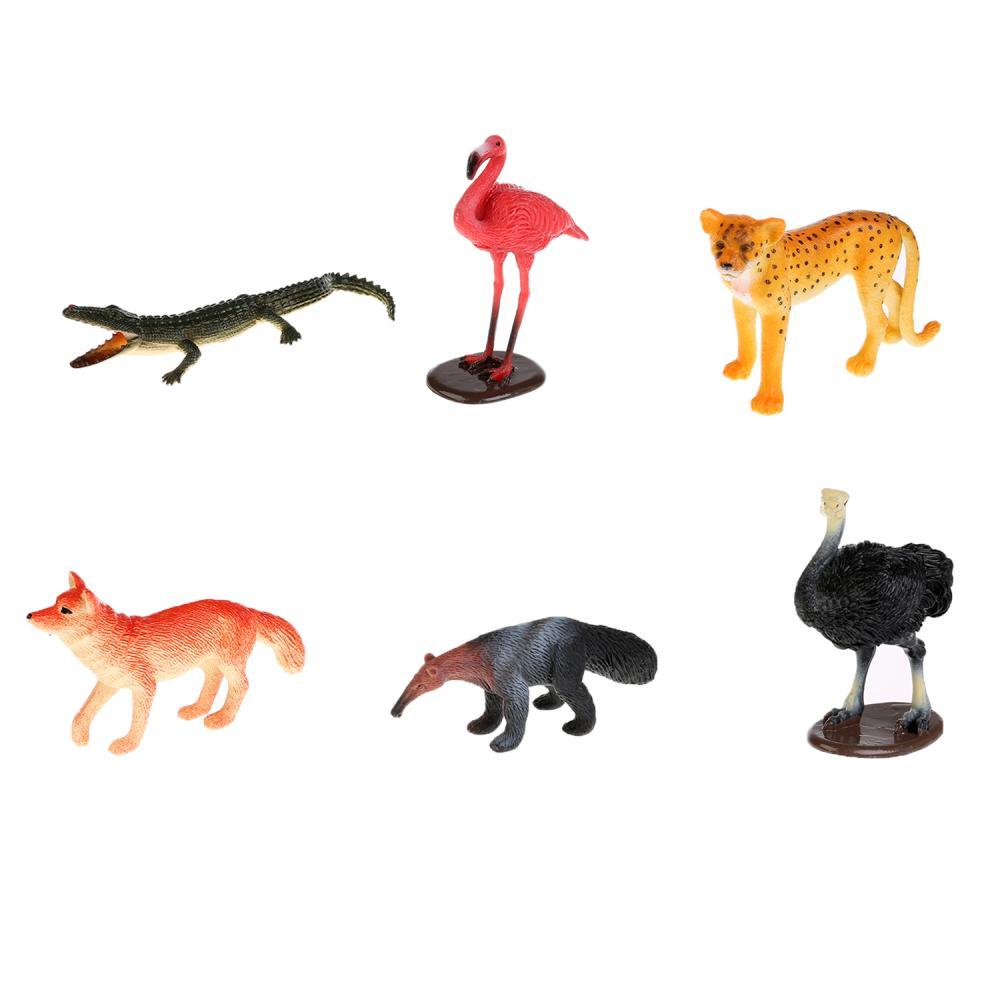 Купить Набор из 6 животных Северной Америки, Играем вместе
