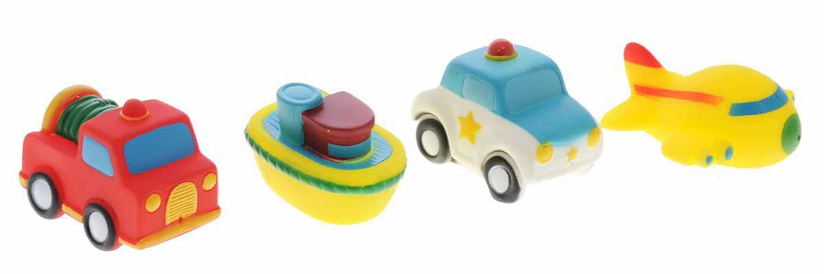 Игрушки для ванны - ТранспортРезиновые игрушки<br>Игрушки для ванны - Транспорт<br>