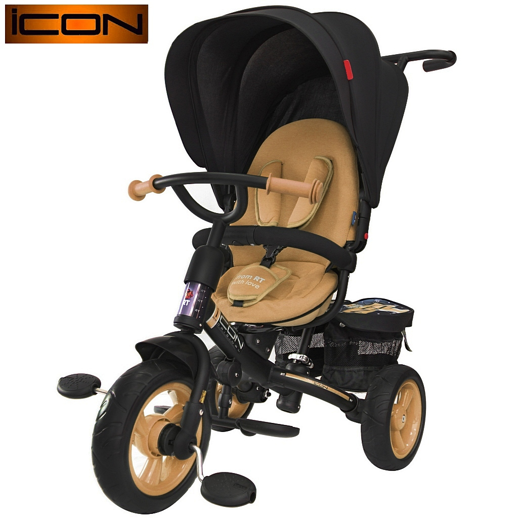 Велосипед RT ICON evoque NEW Stroller by Natali Prigaro GoldВелосипеды детские<br>Велосипед RT ICON evoque NEW Stroller by Natali Prigaro Gold<br>
