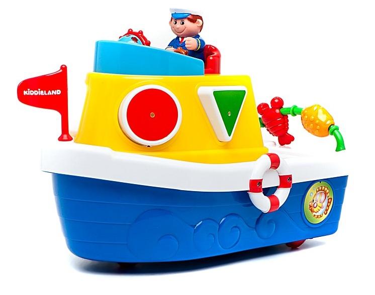 Развивающая игрушка «Мой первый корабль-сортер»Развивающие игрушки KIDDIELAND<br>Развивающая игрушка «Мой первый корабль-сортер»<br>