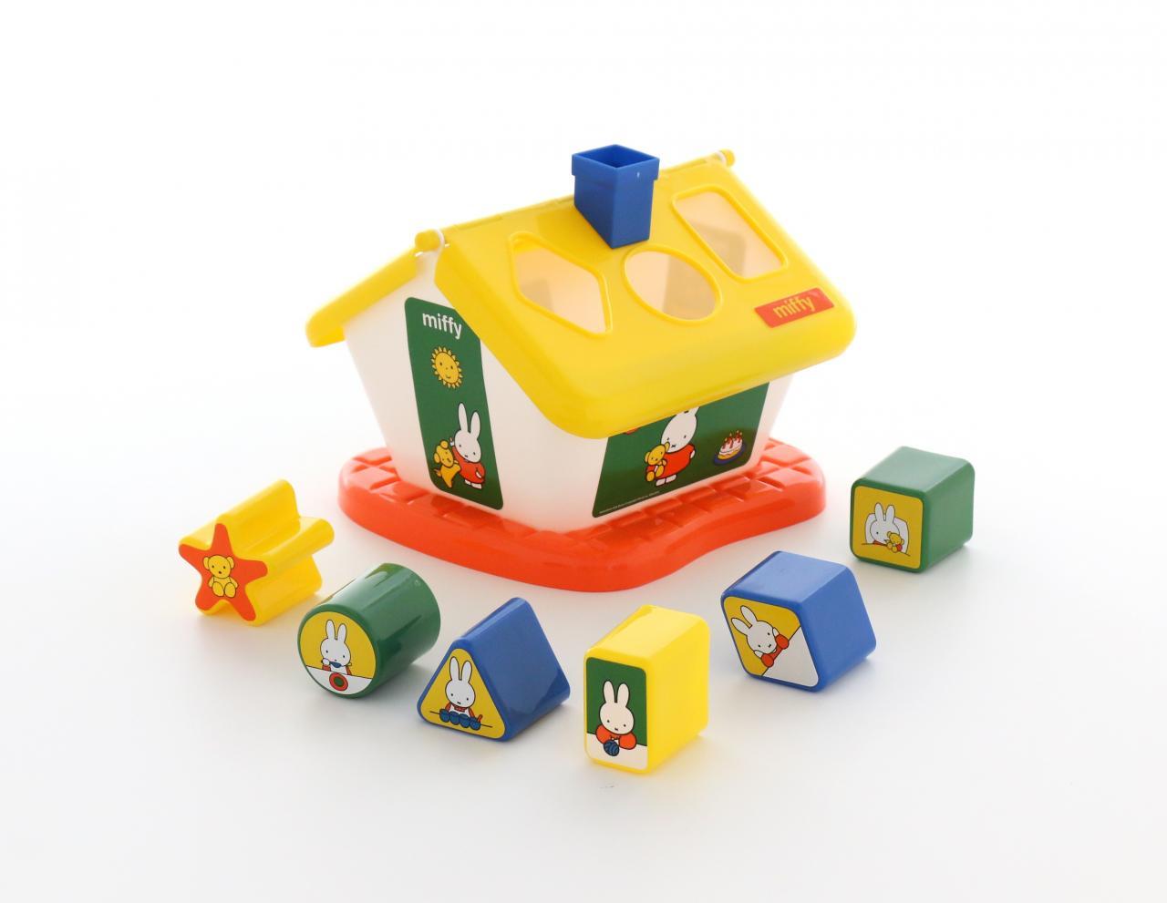 Купить Логический домик №1 – Миффи с 6 кубиками, Полесье