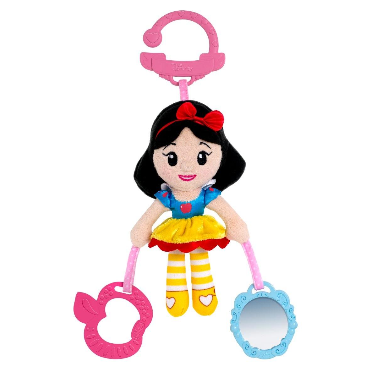 Мягкая подвесная игрушка для коляски  Белоснежка - Развивающая дуга. Игрушки на коляску и кроватку, артикул: 143483