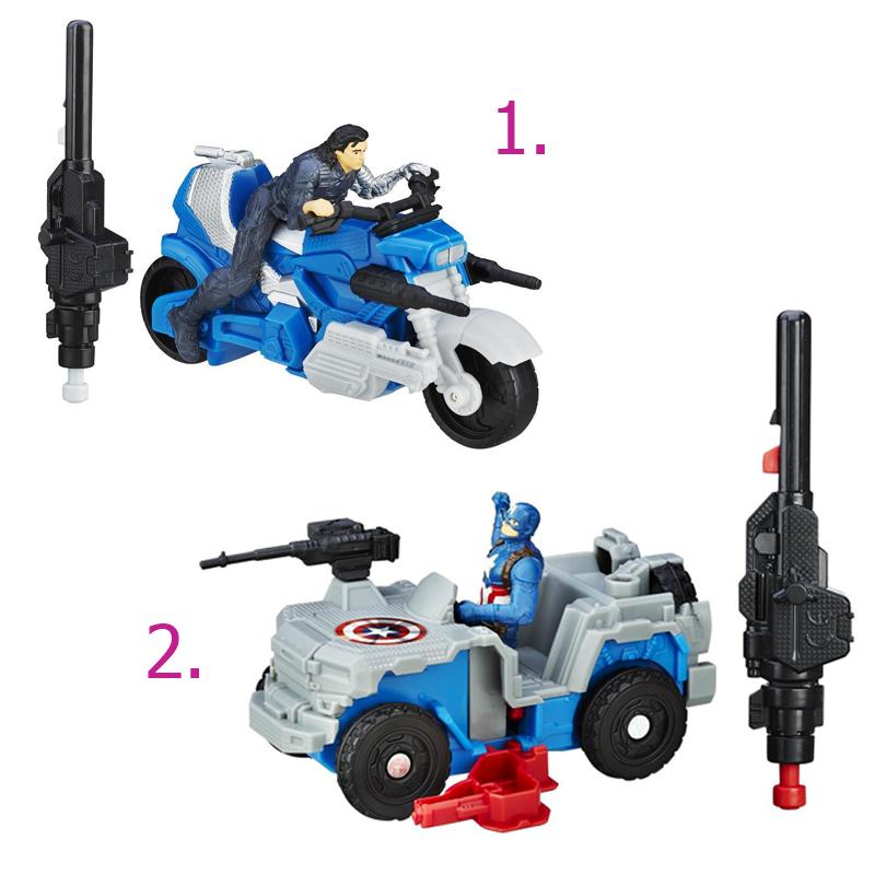 Игровой набор «Боевая машина Мстителей», 2 видаAvengers (Мстители)<br>Игровой набор «Боевая машина Мстителей», 2 вида<br>