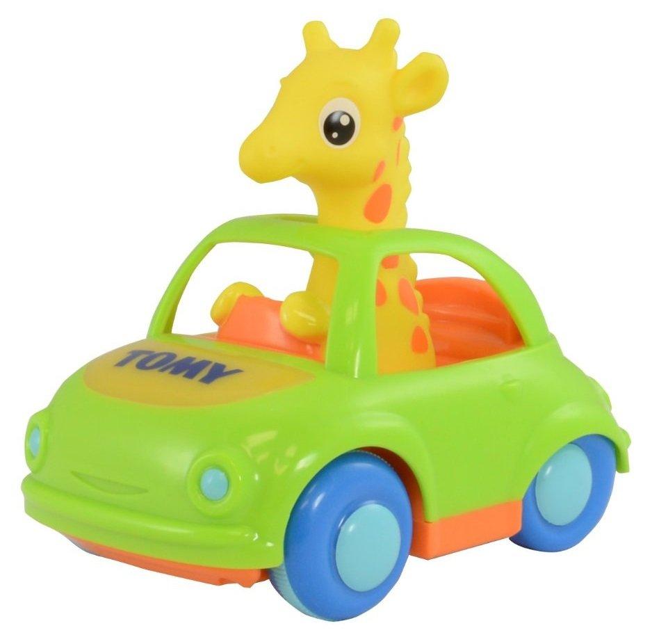 Музыкальная игрушка Веселый Жираф-водительМашинки для малышей<br>Музыкальная игрушка Веселый Жираф-водитель<br>