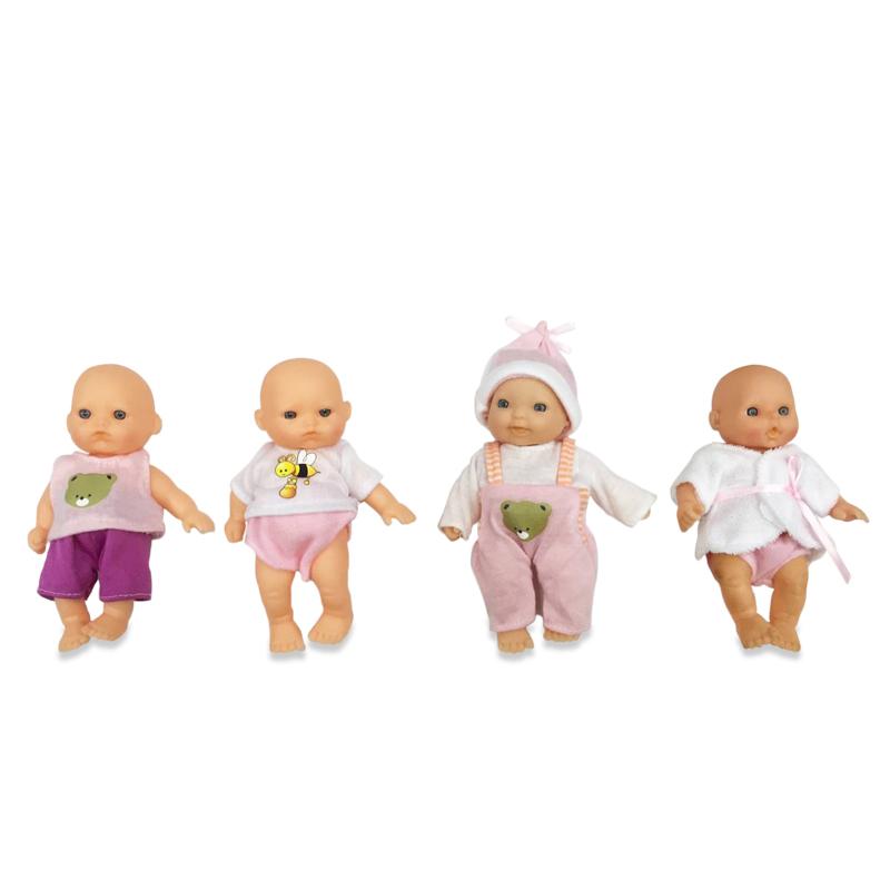 Купить Пупс Мой малыш, 12, 7 см, с аксессуарами, 4 вида, ABtoys