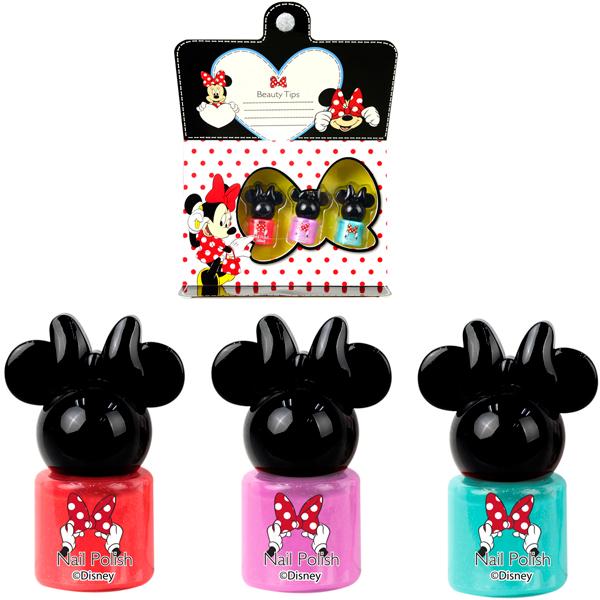 Игровой набор детской декоративной косметики для ногтей - MinnieЮная модница, салон красоты<br>Игровой набор детской декоративной косметики для ногтей - Minnie<br>