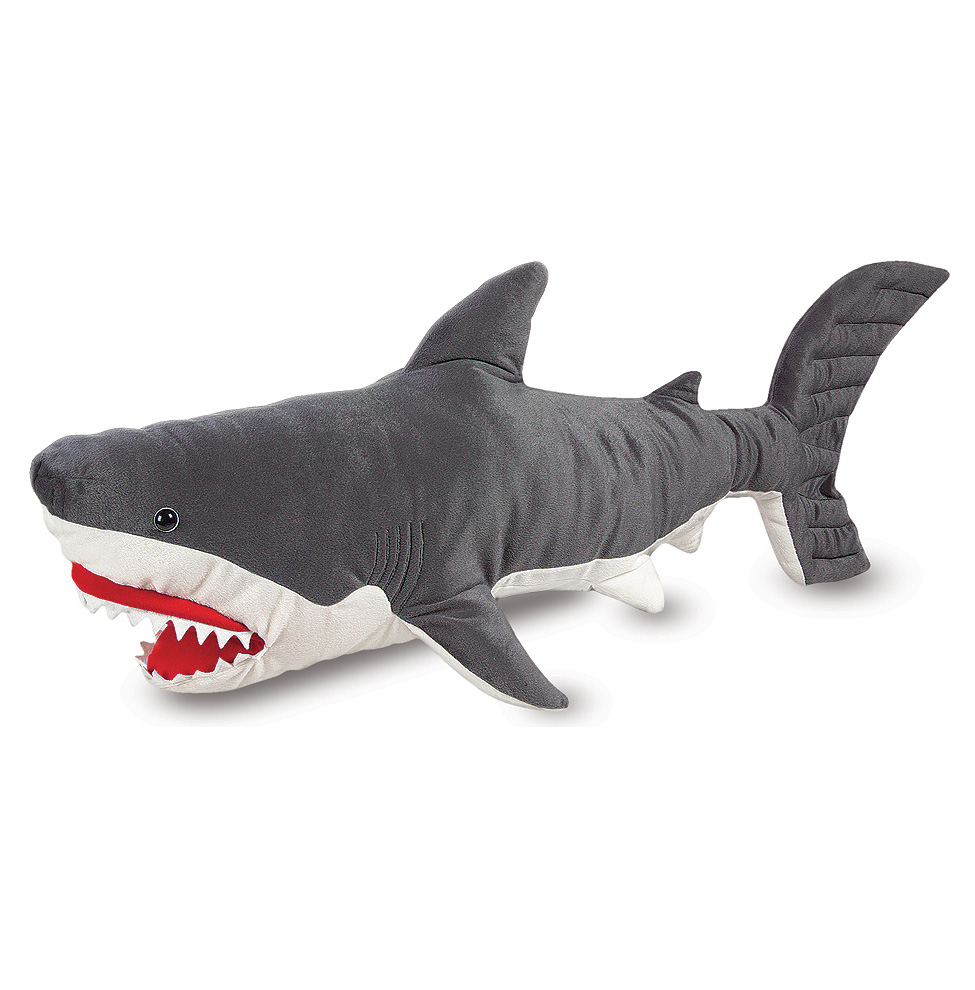 Мягкая игрушка - АкулаЖивотные<br>Мягкая игрушка - Акула<br>