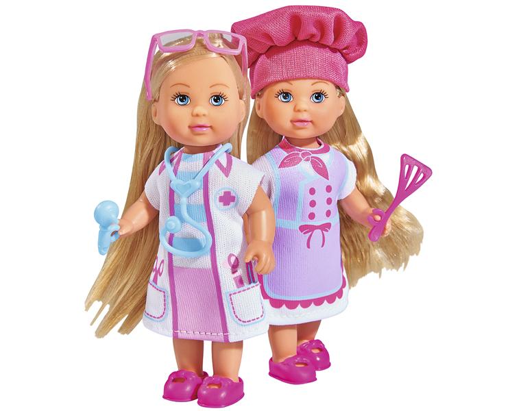 Кукла Еви из серии Любимая работа, 12 см., 2 видаКуклы Еви<br>Кукла Еви из серии Любимая работа, 12 см., 2 вида<br>