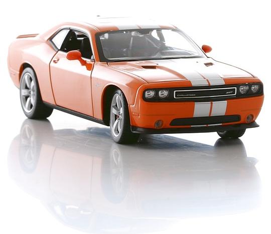 Модель машины Dodge Challenger SRT, 1:24DODGE<br>Модель машины Dodge Challenger SRT, 1:24<br>