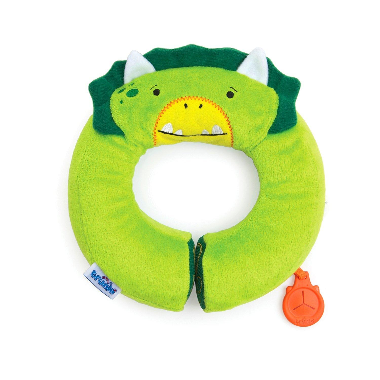 Подголовник Yondi Dino, зеленыйАксессуары для путешествий и прогулок<br>Подголовник Yondi Dino, зеленый<br>