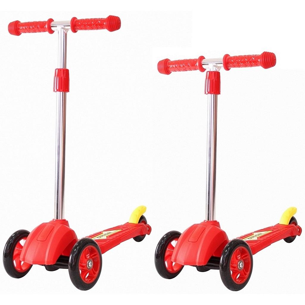 Купить Детский трехколесный самокат красного цвета RT ORION MINI 164в2