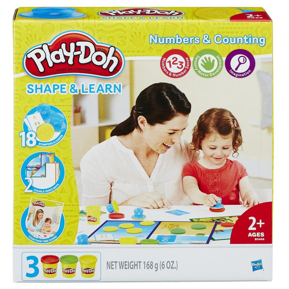 Игровой набор Play-Doh - Цифры и числаПластилин Play-Doh<br>Игровой набор Play-Doh - Цифры и числа<br>