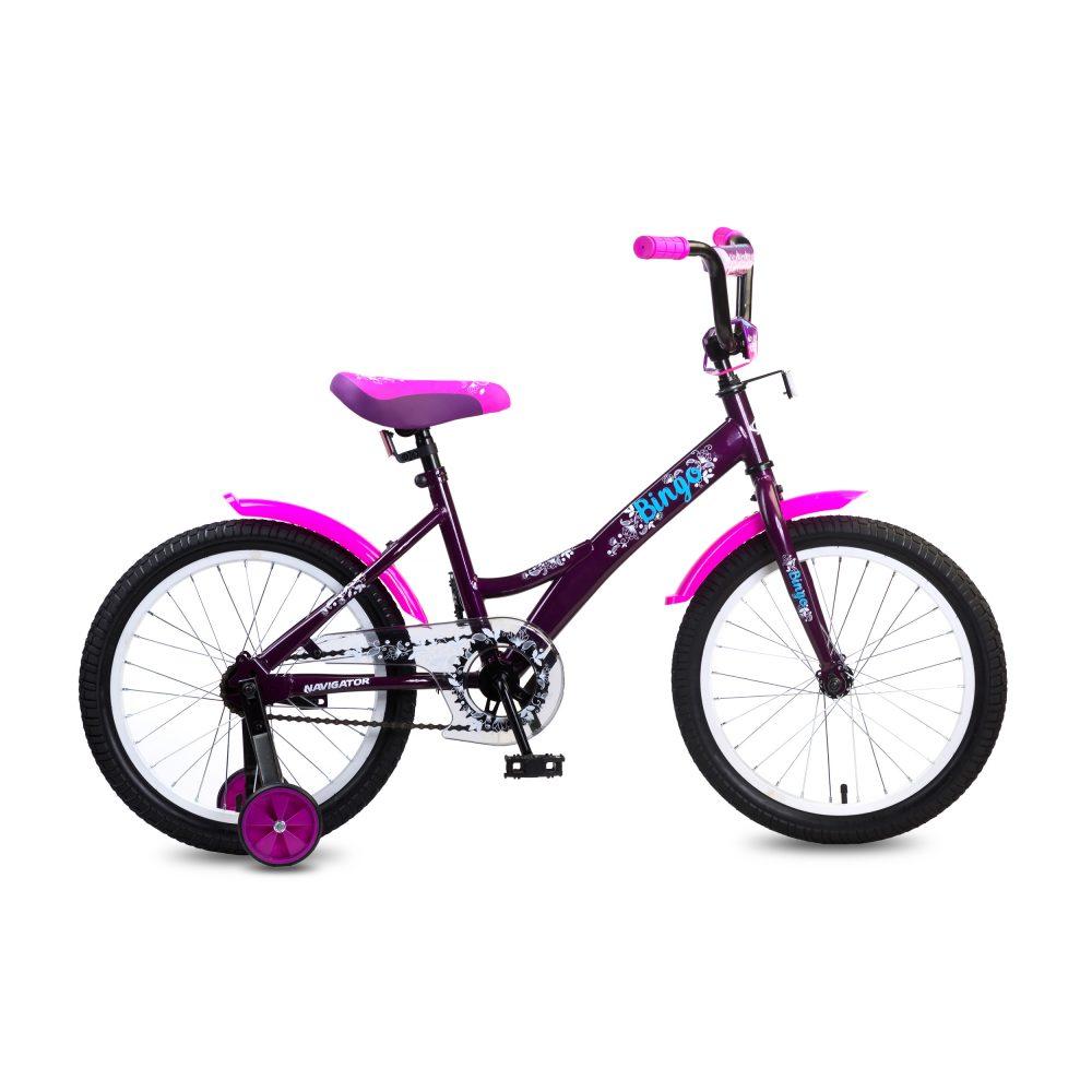 Купить Детский велосипед Bingo, колеса 18 дюймов, Navigator