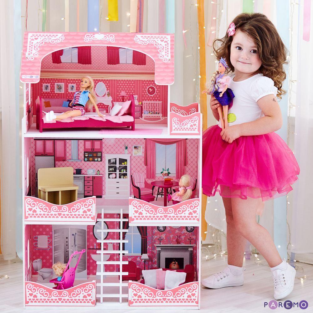 Купить Кукольный домик - Розет Шери с мебелью, Paremo