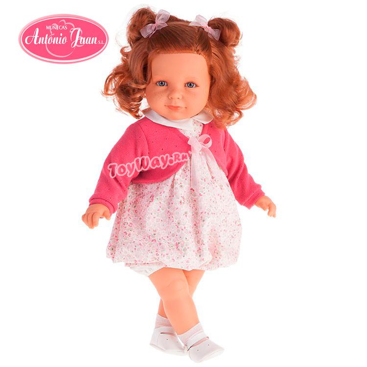 Кукла Нина в ярко-розовом, 55 см.Куклы Антонио Хуан (Antonio Juan Munecas)<br>Кукла Нина в ярко-розовом, 55 см.<br>