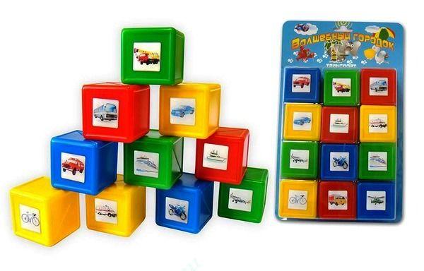 Кубики ТранспортКубики<br>Кубики Транспорт<br>