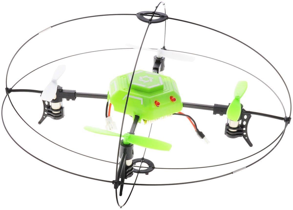 Квадрокоптер на радиоуправлении, вращение на 360 градусовЛетающие игрушки<br>Квадрокоптер на радиоуправлении, вращение на 360 градусов<br>