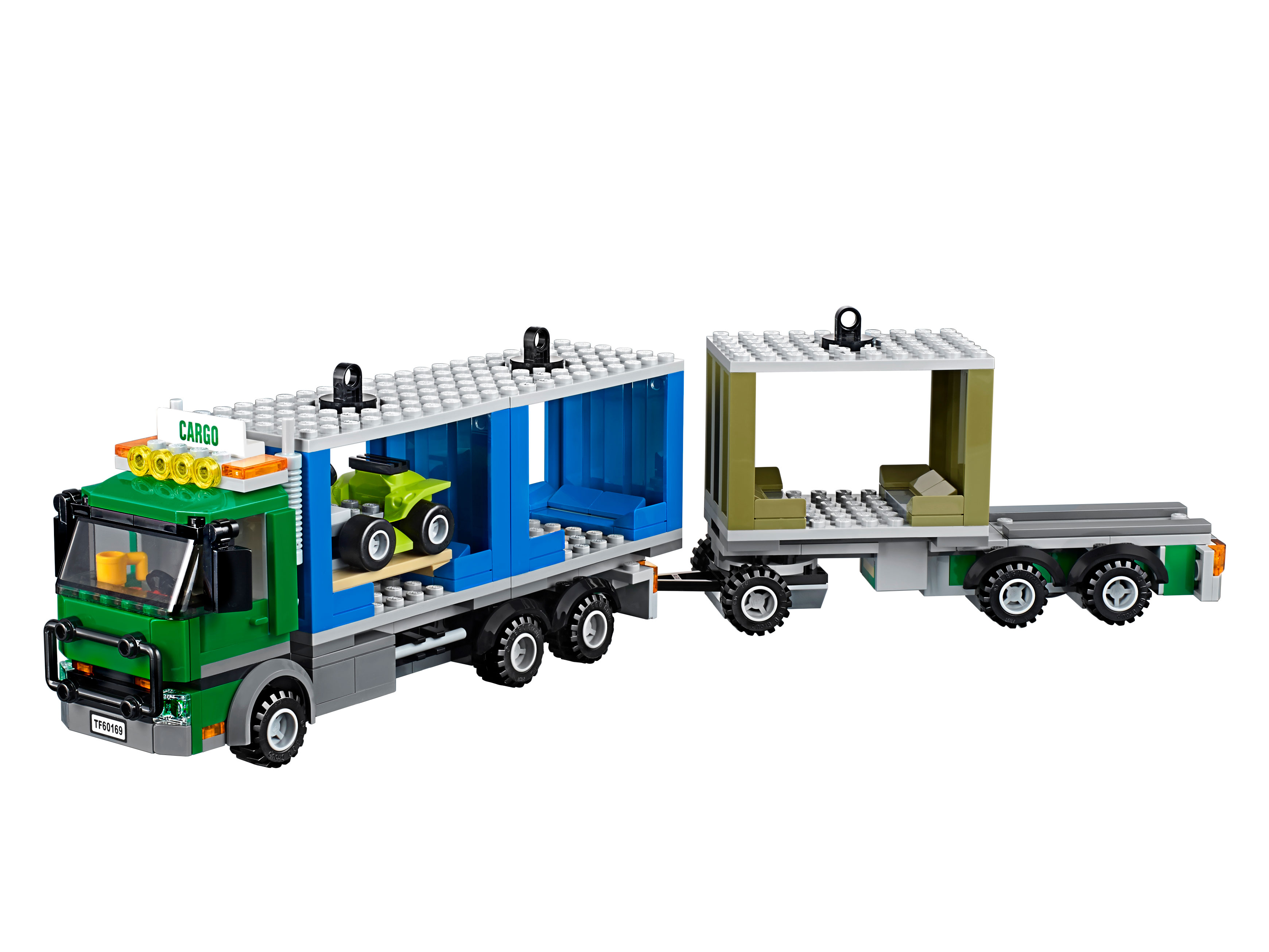 LEGO 60020 Cargo Truck Set Parts Inventory and