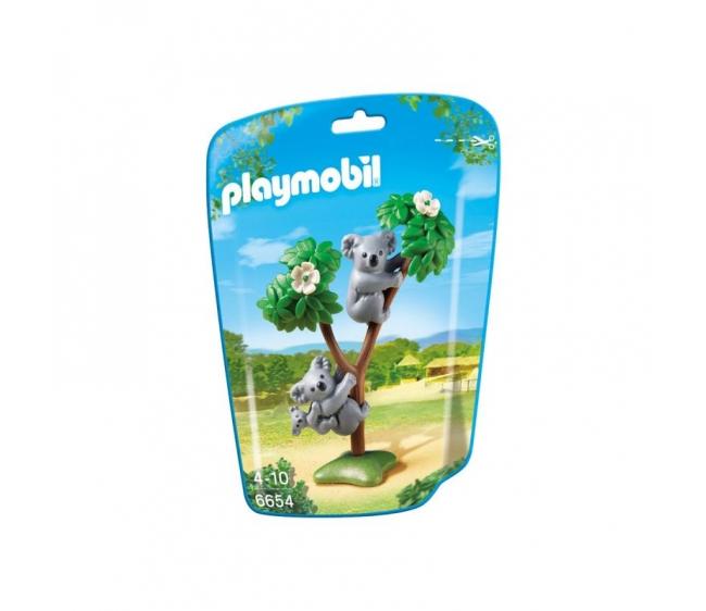 Купить Игровой набор из серии Зоопарк: Семья Коал, Playmobil