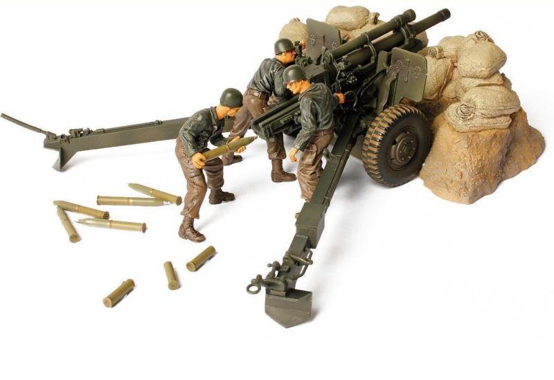 Коллекционная модель - американская 105-мм гаубица М2А1, Франция, 1944, 1:32Военная техника<br>Коллекционная модель - американская 105-мм гаубица М2А1, Франция, 1944, 1:32<br>