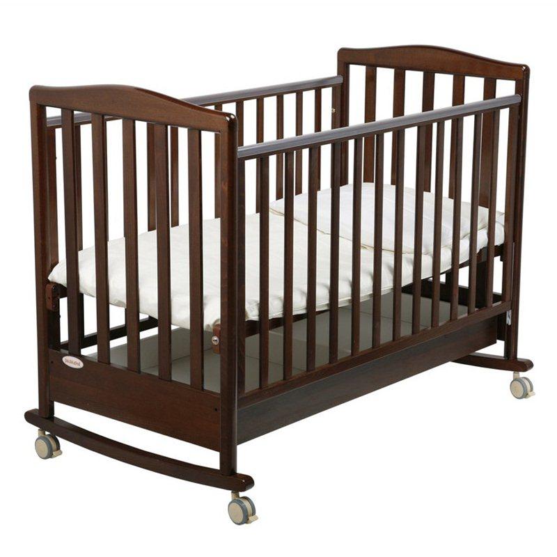 Детская кроватка Луи, шоколадДетские кровати и мягкая мебель<br>Детская кроватка Луи, шоколад<br>