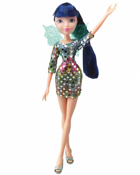 Кукла из серии Winx Club - Диско MusaКуклы Винкс (Winx)<br>Кукла из серии Winx Club - Диско Musa<br>