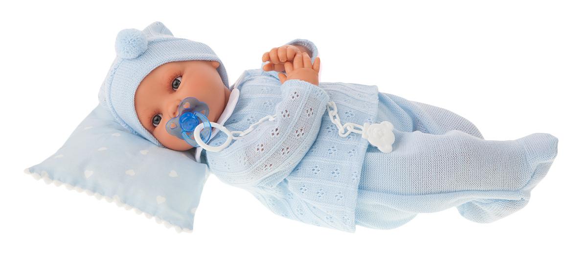 Кукла Марита в голубом, плачет, 42 смКуклы Антонио Хуан (Antonio Juan Munecas)<br>Кукла Марита в голубом, плачет, 42 см<br>