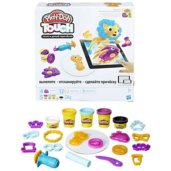 Игровой набор Play-Doh - Лепи и делай прическиПластилин Play-Doh<br>Игровой набор Play-Doh - Лепи и делай прически<br>