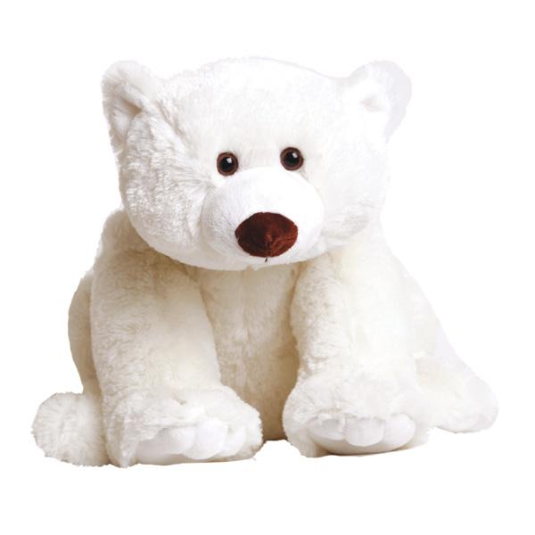 Белый мишка Умка, 32 см - Животные, артикул: 19282