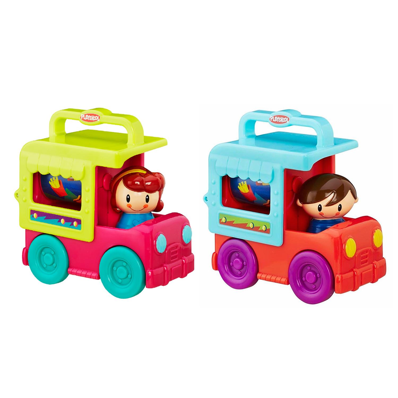 Грузовичок Playskool  Сложи и кати, возьми с собой - Развивающие игрушки PLAYSKOOL (Hasbro), артикул: 144685