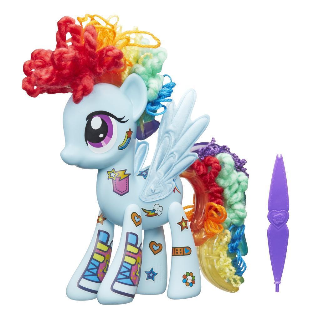 Набор из серии My little pony Создай свою пони  Рейнбоу Дэш - Моя маленькая пони (My Little Pony), артикул: 154869