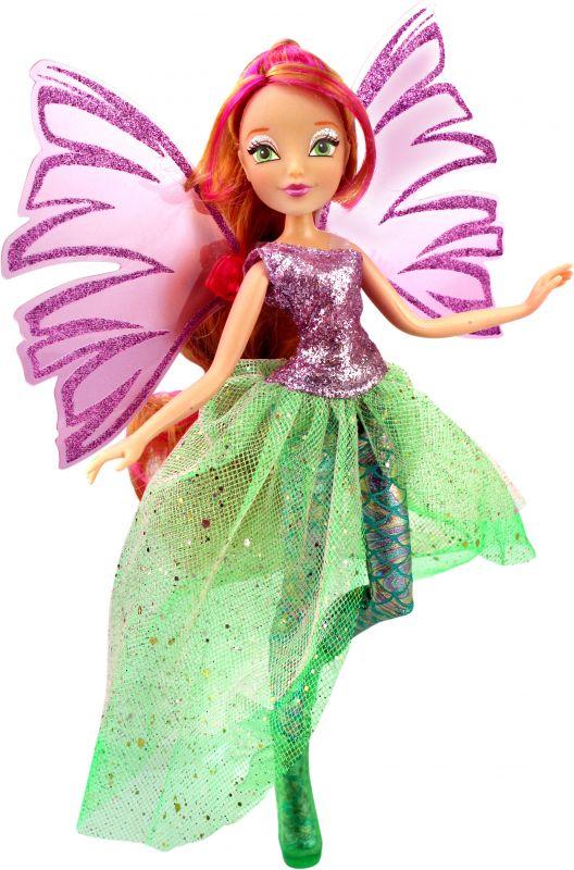 Кукла Флора из серии Winx Club Чудесная СирениксКуклы Винкс (Winx)<br>Кукла Флора из серии Winx Club Чудесная Сиреникс<br>