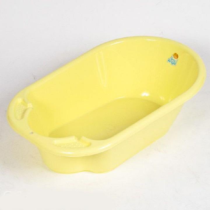 Ванночка детская Дельфин, 84 см., желтая пастельнаяванночки для купания<br>Ванночка детская Дельфин, 84 см., желтая пастельная<br>