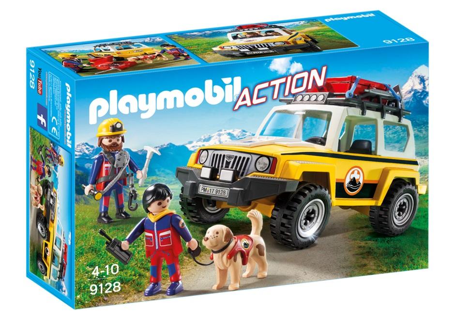 Купить Игровой набор из серии Горноспасательная: Грузовик горноспасателей, Playmobil
