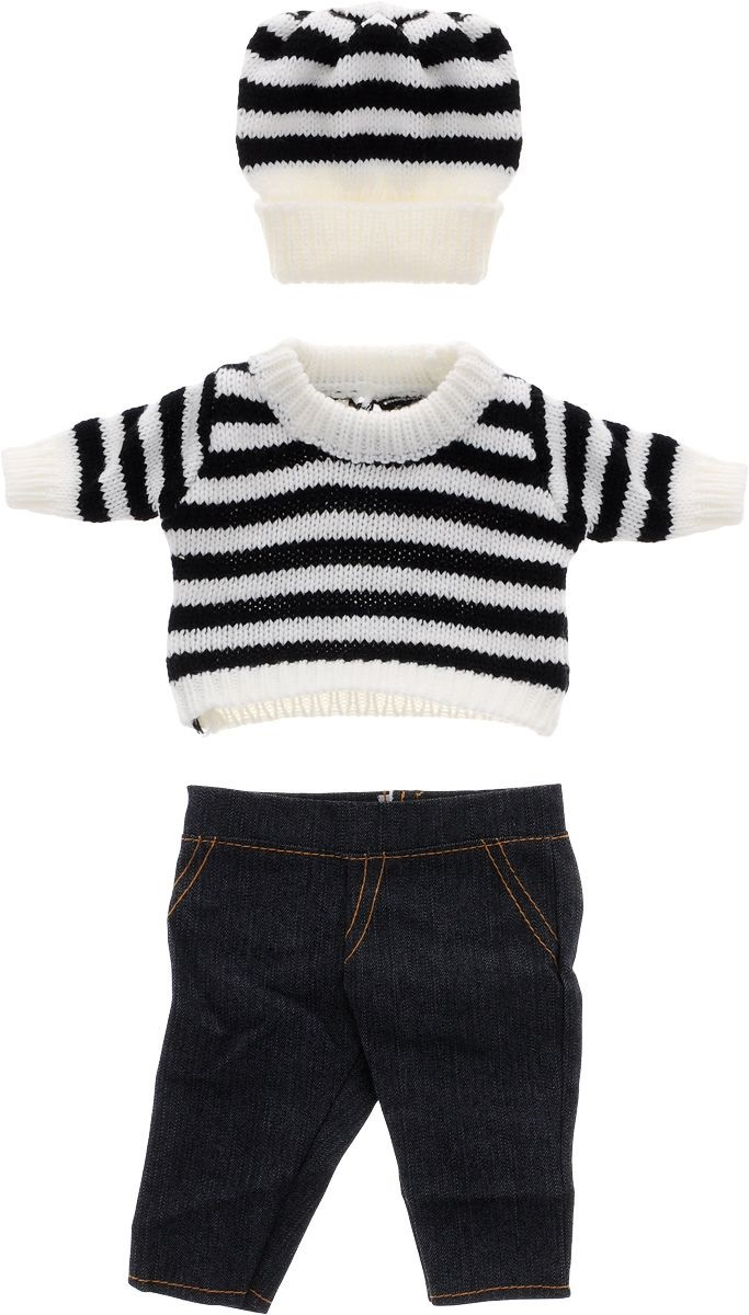 Купить Одежда для кукол - шапочка, кофточка и штаны, JUNFA TOYS