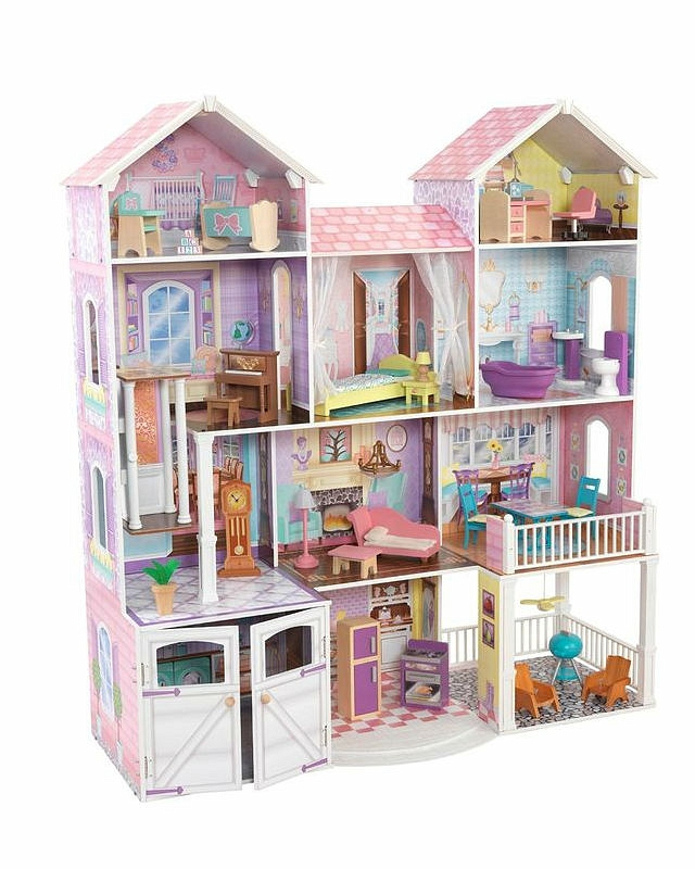 Дом для классических кукол до 32 см Country Estate - Загородная усадьба с мебельюКукольные домики<br>Дом для классических кукол до 32 см Country Estate - Загородная усадьба с мебелью<br>