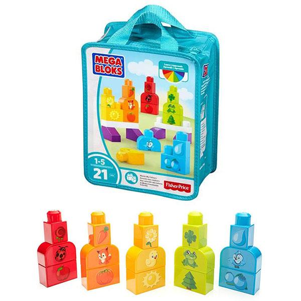 Обучающий конструктор Mega Bloks - Изучаем цветаКонструкторы Mega Bloks<br>Обучающий конструктор Mega Bloks - Изучаем цвета<br>