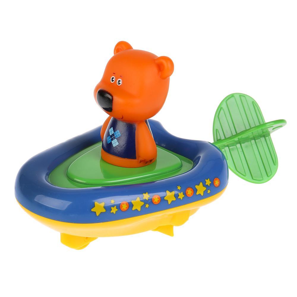 Купить Игрушка пластизоль для ванны Капитошка – Ми-ми-мишки, Лодка и Кеша, 5, 4 см, Играем вместе