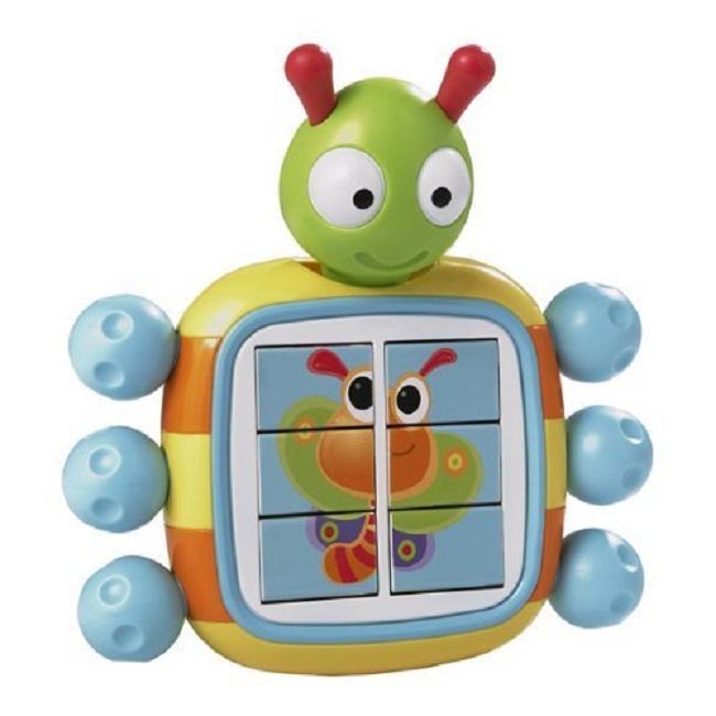 Развивающая игрушка - Букашка-пазлКубики<br>Развивающая игрушка - Букашка-пазл<br>